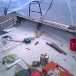 fitting carbon nomex side decks